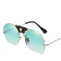 Hindfield Semi-rimless Sunglasses Male Brand Designed Womens Sunglasses ... - $17.73