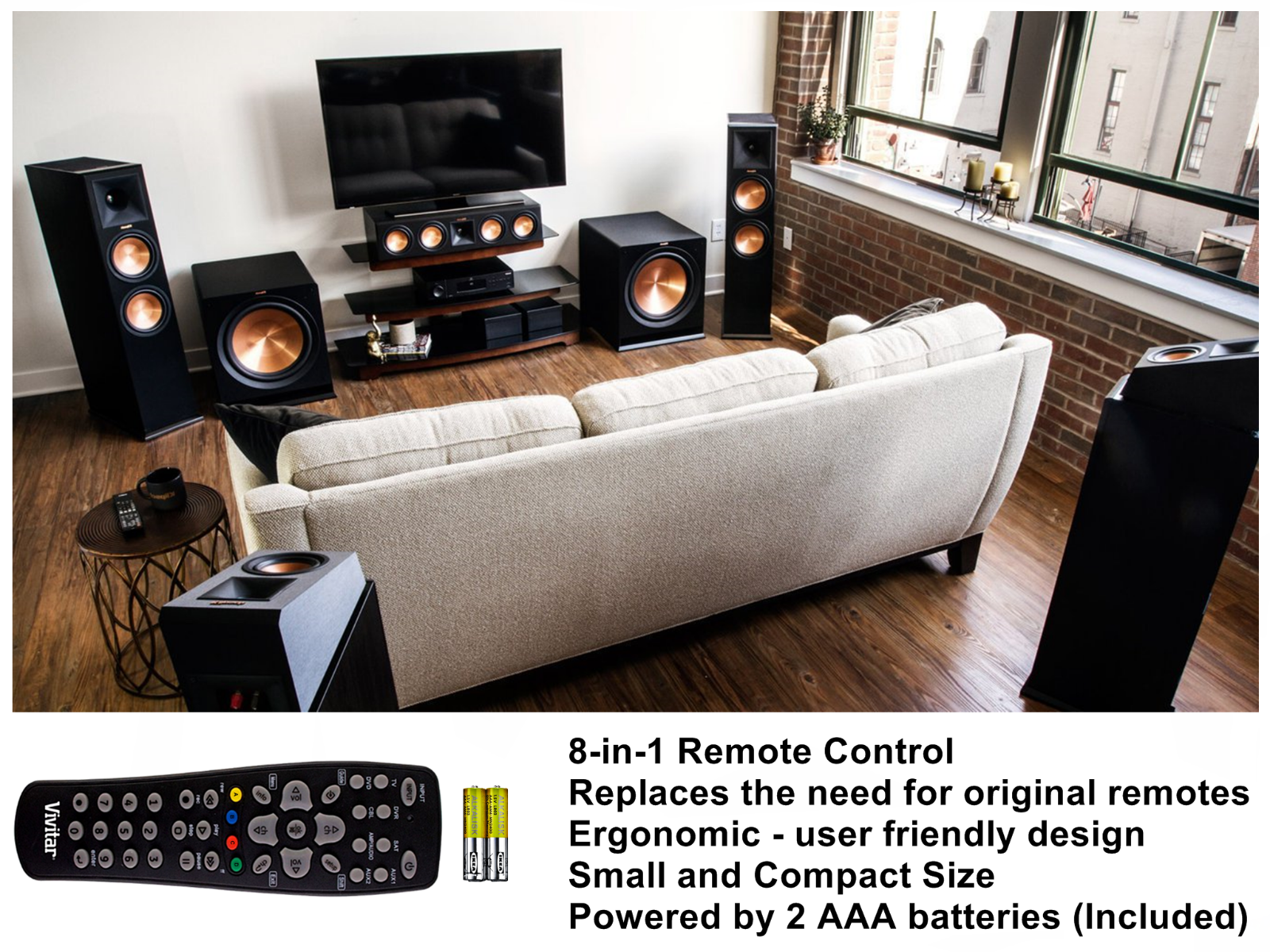Control All Home Entertainment Devices in and 50 similar items