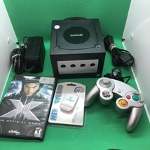 Nintendo GameCube Black System w/ Original Controller X-Men Game & Memory Card - $98.99