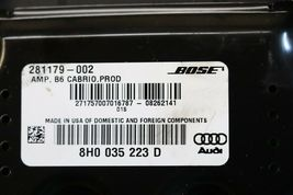 Audi A4 Amplifier 8TO035223AH Amp Stereo Receiver Audio image 4