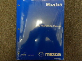 2008 Mazda5 MAZDA 5 Service Repair Shop Workshop Manual FACTORY FEO NEW - $92.76