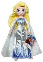 "New Disney Store Frozen 2 Snow Queen Elsa Medium 18"" Plush Toy - $39.55"