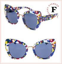 DOLCE & GABBANA PRINT FAMILY 4319 Memphis Blue Butterfly Sunglasses DG4319S - $296.01