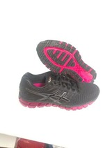 Asics Woman's Gel Quantum 180 2 Black Cosmo Pink Size 9 US - $148.45