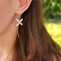Natural Handmade Jewelry Vintage Poetic Clover Fashion Drop Earrings for... - $33.89
