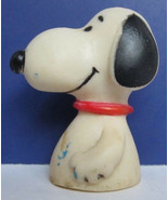 Vintage - Snoopy Peanuts Cake Topper 1960's - 2 inches tall - $9.79