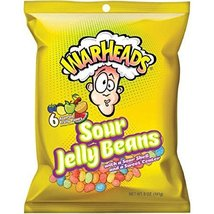 Warhead Sour Jelly Beans 5-Ounce Candy Bag 12 Count - $32.45