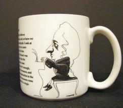 Wolfgang Mozart Mug ~ Largely Literary Designs Steven Cragg Artwork 10 Oz. - $5.90