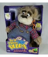 VNT 1997 TYCO Real Talkin' Bubba Plush Talking Bear Works See Pics & Des... - $32.99