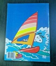 Vintage Snoopy Peanuts And Friends Schulz Comic Strips Coloring Book 1989 NICE - $12.30