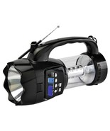 QFX Emergency Flashlight/Lantern with FM Radio USB/SD and Recording Buil... - $38.61