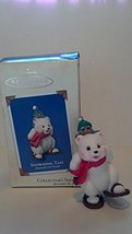 2003 Hallmark Snowball and Tuxedo Series #3--SNOWSHOE TAXI Ornament - $15.60