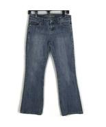 American Eagle Womens Jeans Size 2 Short Hipster Light Wash Stretch Denim Pants - $21.74
