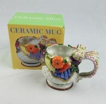 Cib 3D Ceramica Tazza di Caffè Fall Giorno Del Ringraziamento da Cucina ... - $26.90