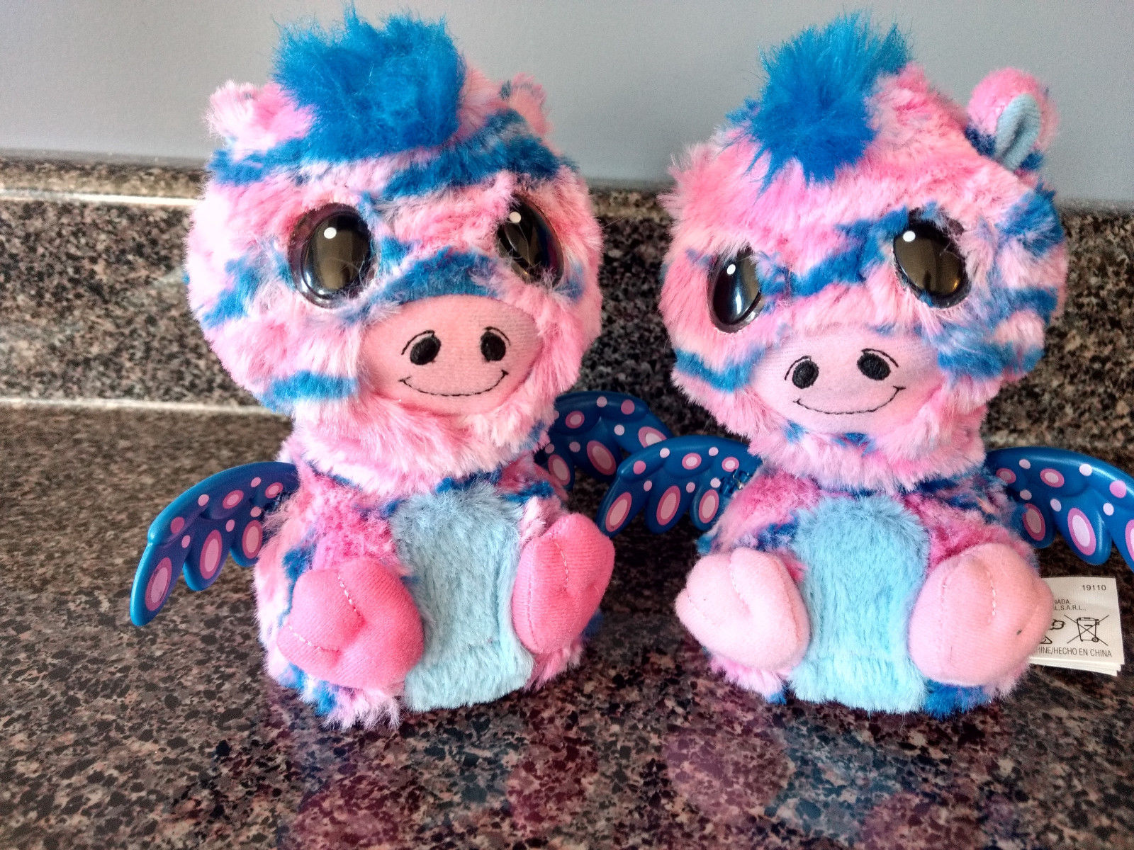 Already Hatched Hatchimals Surprise Twins - Pink and blue Zuffin