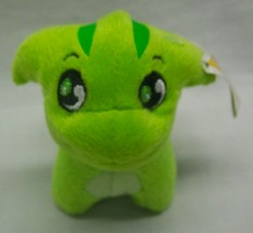 "McDonald's Neopets GREEN POOGLE KEYCHAIN CLIP 3"" Plush STUFFED ANIMAL To... - $14.85"