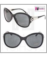 VERSACE Butterfly 4237 Black Silver Crystal Medusa Sunglasses VE4237BA W... - $237.90