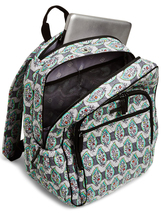 Vera Bradley Signature Cotton Campus Tech Backpack, Paisley Stripes image 3