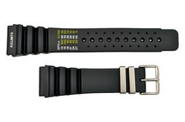 24mm Diver's SURFER Watch band Black PU STRAP Fits CITIZEN SEIKO (N. D. ... - $18.25