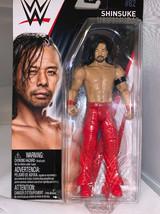 WWE WRESTLING BASIC SERIES #82 SUPERSTAR WRESTLER SHINSUKE NAKAMURA MATTEL - $6.92