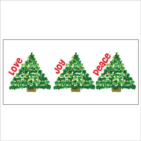 Merry Christmas DotsTri-Fold Money Holder