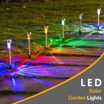 LED Solar Garden Light Solar Landscape Pathway Light Solar Lawn Lamp Mul... - $41.52