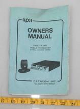Vintage Pathcom Mobile Transceiver Citizens Ban CB Radio Manual Path 166... - $14.84