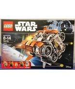 Lego Star Wars Force Awakens Jakku Quadjumper Set 75178 NEW - 2017 - $79.99