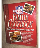 NFL FAMILY COOKBOOK-HARD COVER-NEW - $5.99