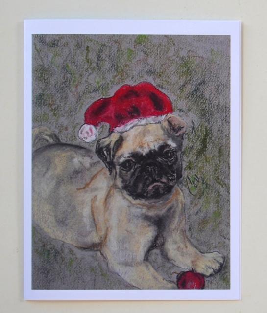 Santa s little pugster by cori solomon
