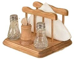 Primary image for Toothpick Salt and Pepper Napkin Holder