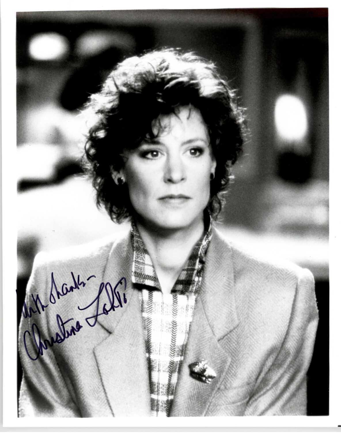 Primary image for Christina Lahti Signed Autographed Glossy 8x10 Photo