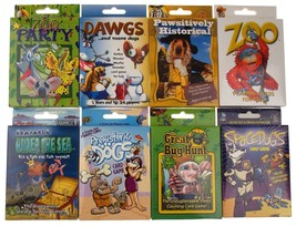 Assorted Kids Card Games Lot 16 Space Dogs Zoo Party Under Sea Bug Educa... - $21.99