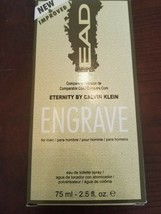 EAD New & Improved Eternity by Calvin Klein Engrave Eau De Toilette Spra... - $20.67