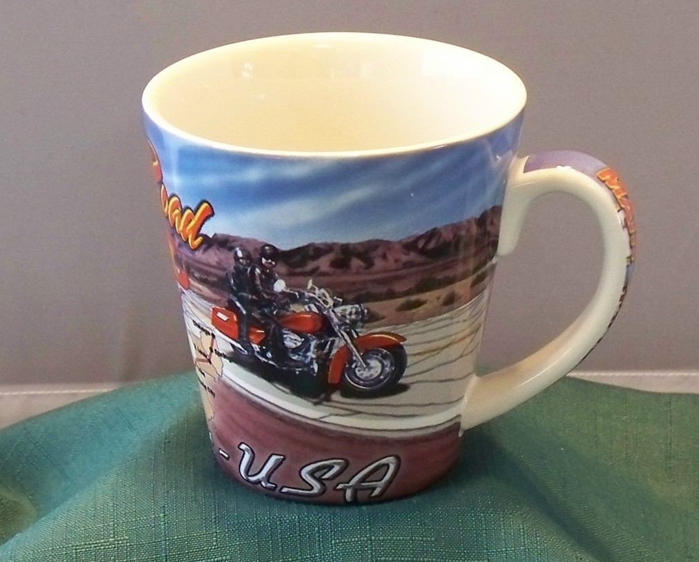 Route 66 The Mother Road 12 Oz Coffee Mug VGC