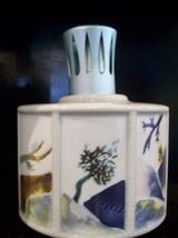 Lampe Berger Lampe, Japanese Scroll, Three Panel Scene, New - $120.00