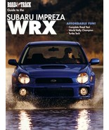Road & Track GUIDE to the SUBARU IMPREZA WRX magazine 2002 Outback H6 - $8.00