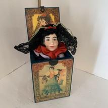 Vintage ENESCO CARMEN Music Jack in the box Grand Opera Faith Hick #220 Of 3000 - $49.00
