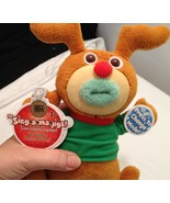 """Holiday Sing-a-Ma-Jig Singing Reindeer - Sings """"We Wish You a Merry Christmas"""" - $21.00"""