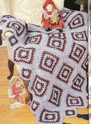 *Crochet Christmas Angels Tree Skirt and Decorations