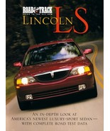 Road & Track GUIDE to the LINCOLN LS magazine 2000 LS6 LS8 V6 V8 - $8.00