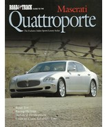 Road & Track GUIDE to the MASERATI QUATTROPORTE magazine 2005 - $8.00