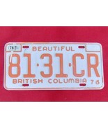 1976 Canada British Columbia License Plate 81-3... - $19.99
