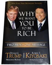 Why We Want You to Be Rich: Trump/Kiyosaki Hardcover LikeNew - $6.00
