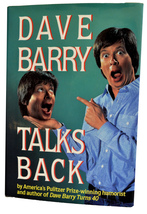 Dave Barry Talks Back (Humor) Hardcover Like New Condition - $5.40