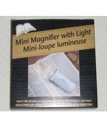 Mini Magnifier with Light and Carrying Case Bat... - $1.99
