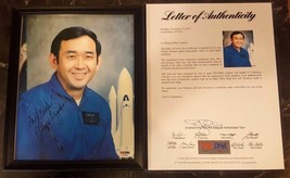 ELLISON S. ONIZUKA - PHOTOGRAPH SIGNED W/ PSA DNA COA - $449.99
