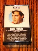 ELVIS PRESLEY A LEGENDARY PERFORMER VOLUME 4 CASSETTE - $38.60