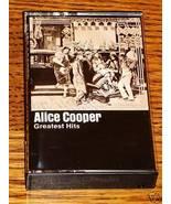 ALICE COOPER GREATEST HITS CASSETTE - $44.55
