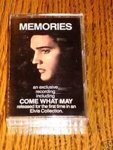 ELVIS PRESLEY MEMORIES CASSETTE - $34.64